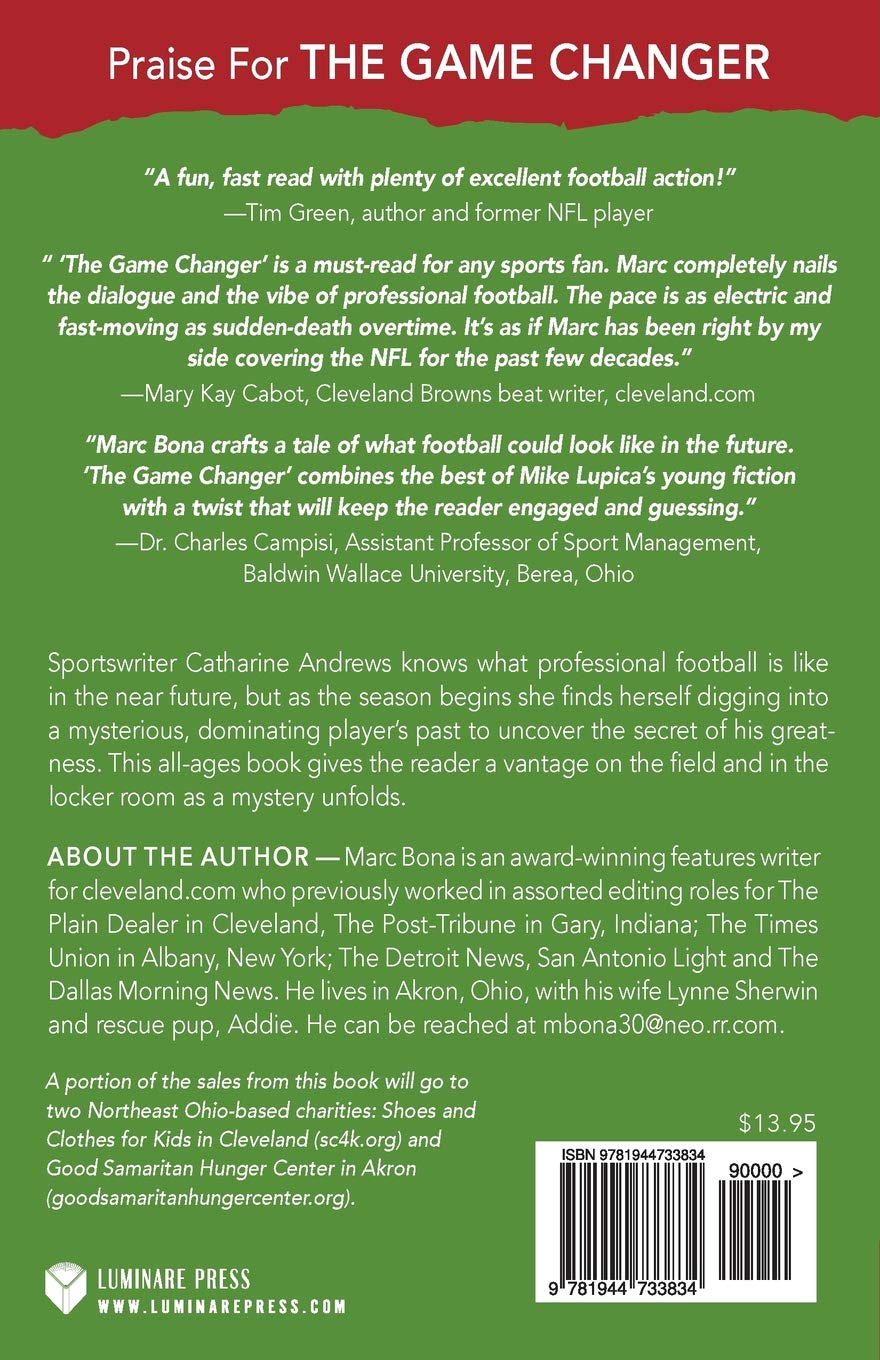 The Game Changer Back Cover